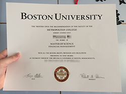 How Fast Can I Get Boston University Fake Diploma Certificate