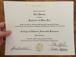 How To Find The Right Fake University of Iowa Diploma Certificate