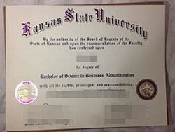 Buy Kansas State University Fake Degree, Buy USA Diploma