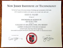 How Much For New Jersey Institute of Technology Fake Degree