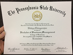 Fake Pennsylvania State University Diploma, Buy PSU Degree