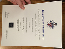 How to Get University of Nottingham Fake Diploma