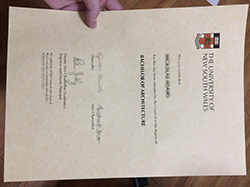 Buy Fake University of New South Wales (UNSW) Diploma Certificate