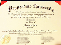 Fake Pepperdine University Diploma, Buy Pepperdine Master Degree
