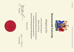 Bournemouth University Diploma For sale, Buy BU Fake Degree