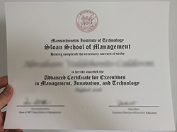 Sloan School of Management Fake Diploma, Buy MIT Fake Certificate