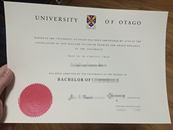 Buy University of Otago Fake Degree, Fake Diploma in New Zealand