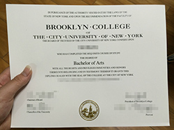 Where to Buy Brooklyn College Fake Degree Certificate