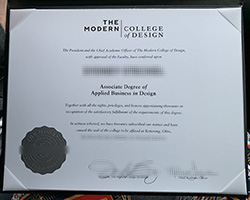 Can I Buy Fake Modern College of Design diploma in USA