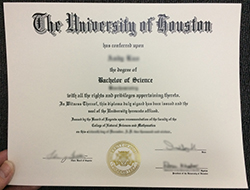 Where to Purchase University of Houston Fake Degree