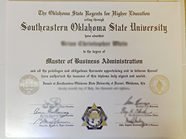 Fake Southeastern Oklahoma State University diploma for sale
