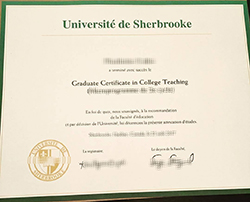 How to Buy Fake Université de Sherbrooke Diploma&Transcript