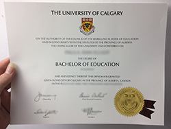 Buy Fake University of Calgary Diploma in Canada