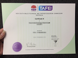 How to Obtain Fake TAFE NSW Certificate?