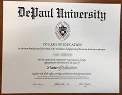 How to Get a DePaul University Diploma in 24 hrs