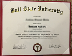How to Order Fake Ball State University Diploma?