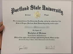 How to Get a Portland State University Fake Diploma
