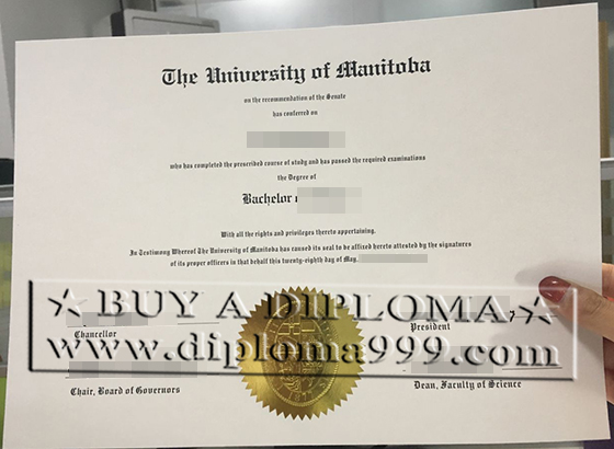 Buy fake U of M diploma,faking UMB certificate Canada