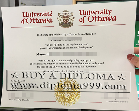 Superior uOttawa diploma,buy fake U of O degree in Canada