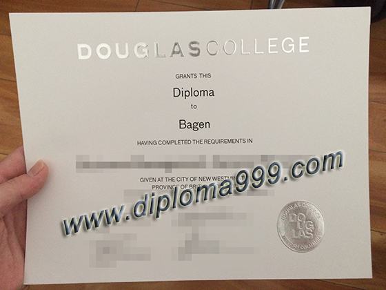 buy Douglas College fake certificate, buy fake degree