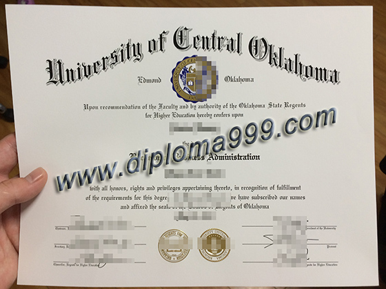 University of Central Oklahoma degree, buy UCO fake certificate