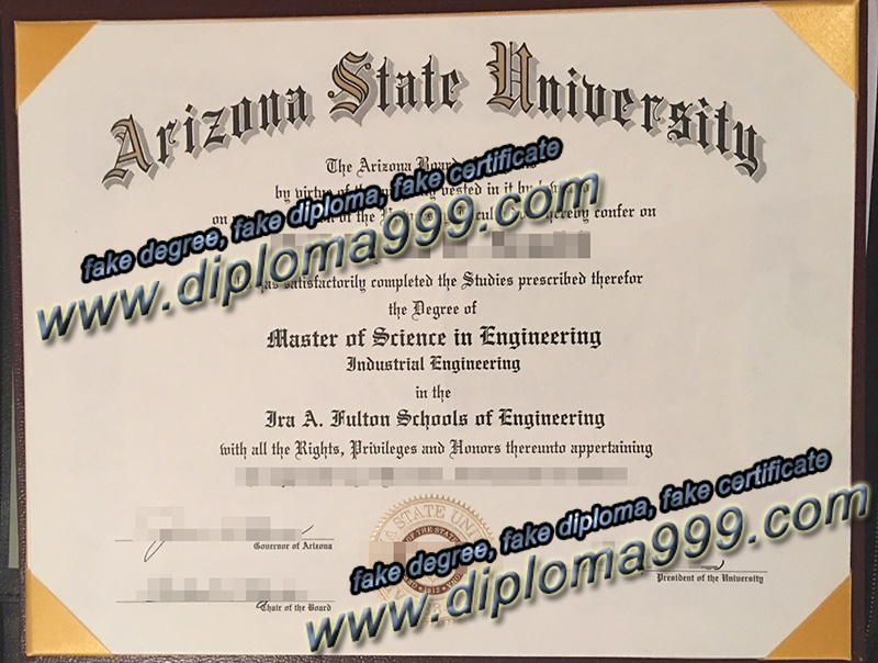 fake Arizona State University degree