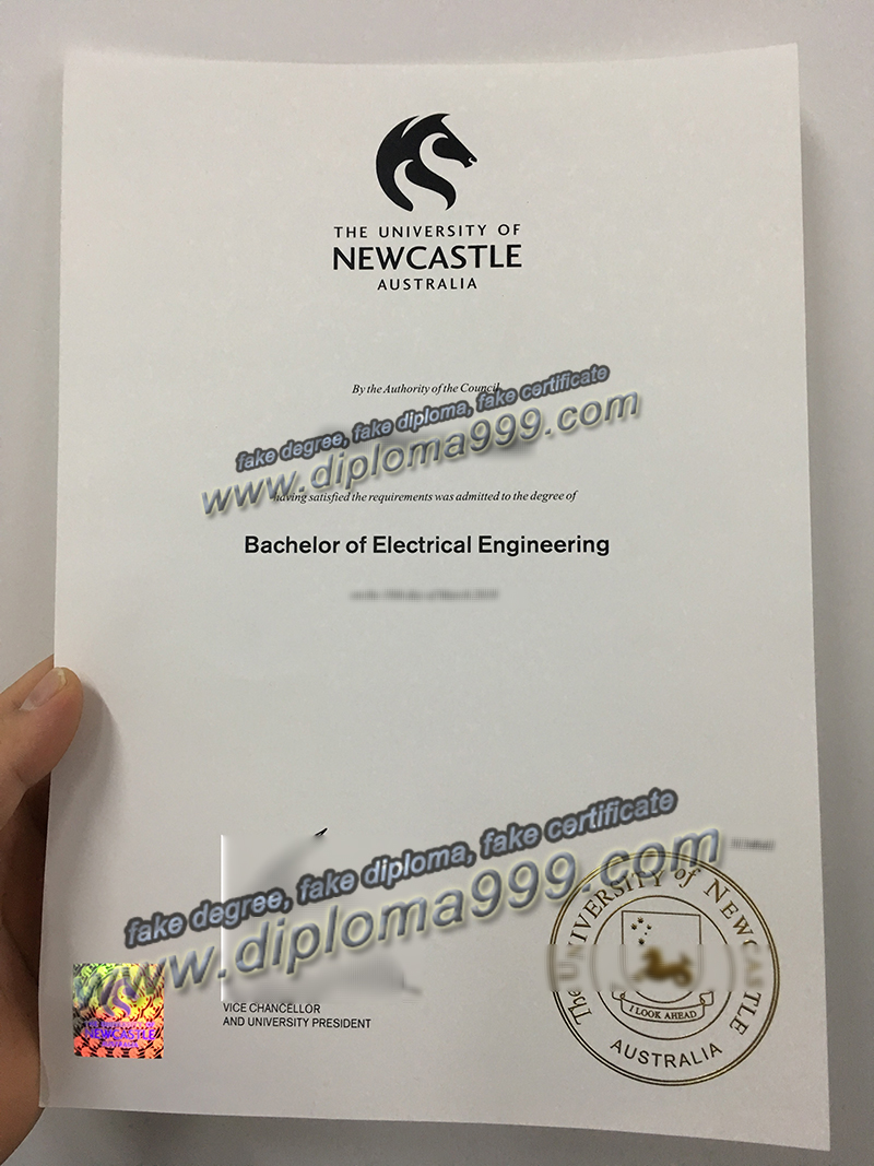 University of Newcastle diploma sample