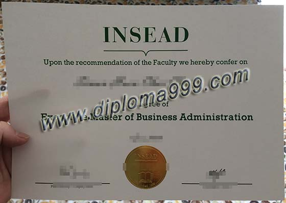 how safety to buy INSEAD degree, INSEAD certificate sample