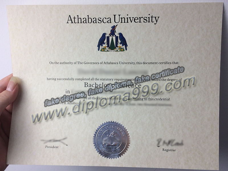 Athabasca University diploma, Athabasca University degree