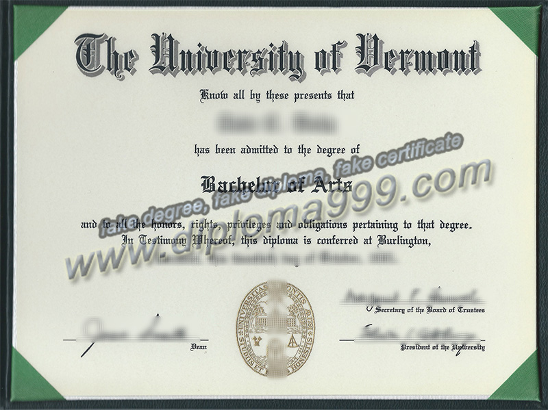 How to Buy University of Vermont Diploma