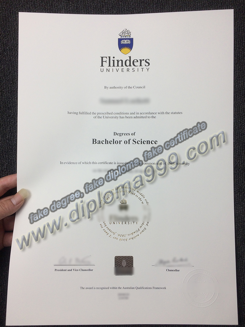 Flinders University diploma, fake Flinders University degree, buy fake diploma