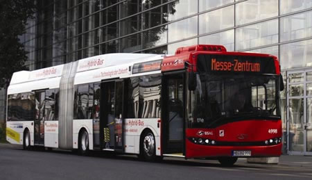 Germany to promote travel by bus