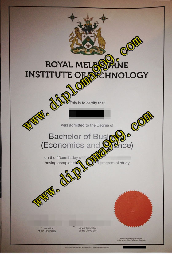 Fake Royal Melbourne Institute of Technology University dipl
