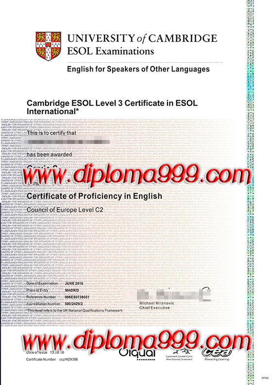 CIE certificate, buy Cambridge International examinations ce