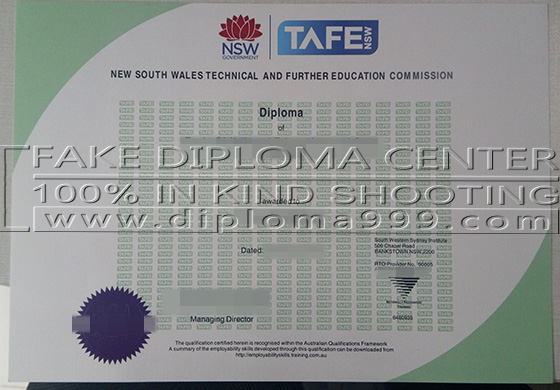 Where to buy fake TAFE certificate IV online?