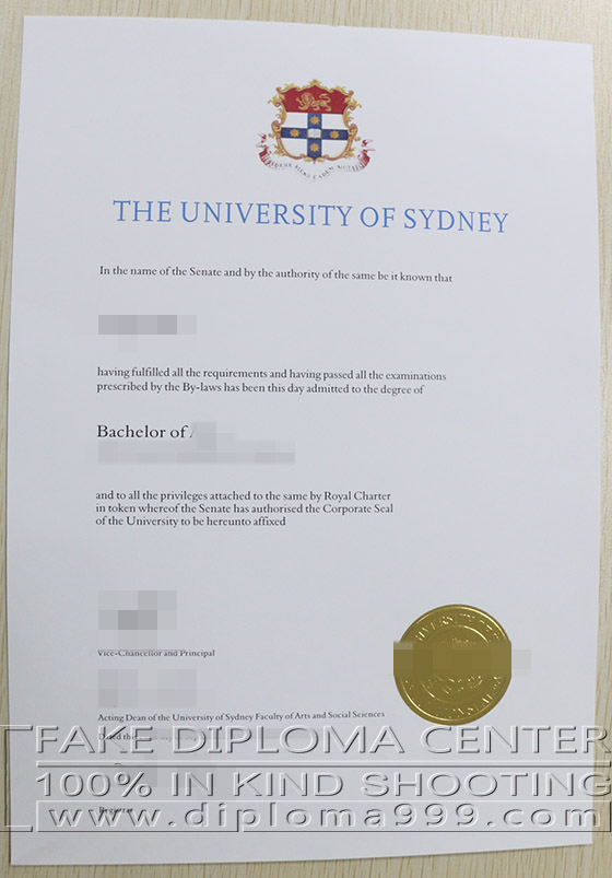 How to buy copy of University of Sydney degree?