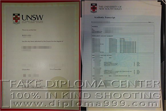 How much for The University of New South Wales diploma the U