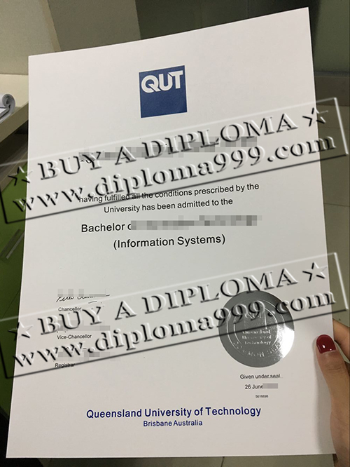 Fake QUT diploma, why not buy QUT fake degree?