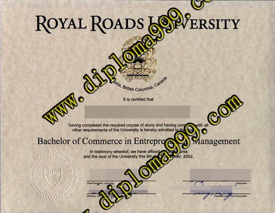How to make fake Royal Roads University degree