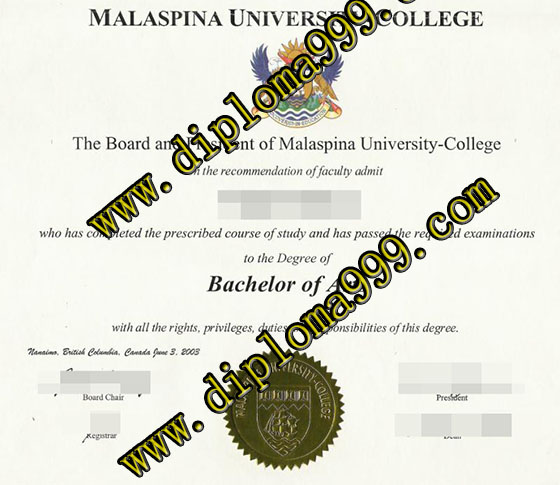 Fake  Malaspina University-College diploma service