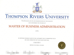 Where to buy fake Thompson Rivers University diploma