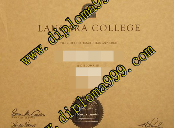 Buy fake Langara College degree