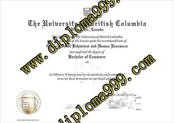 How to make University of British Columbia degree