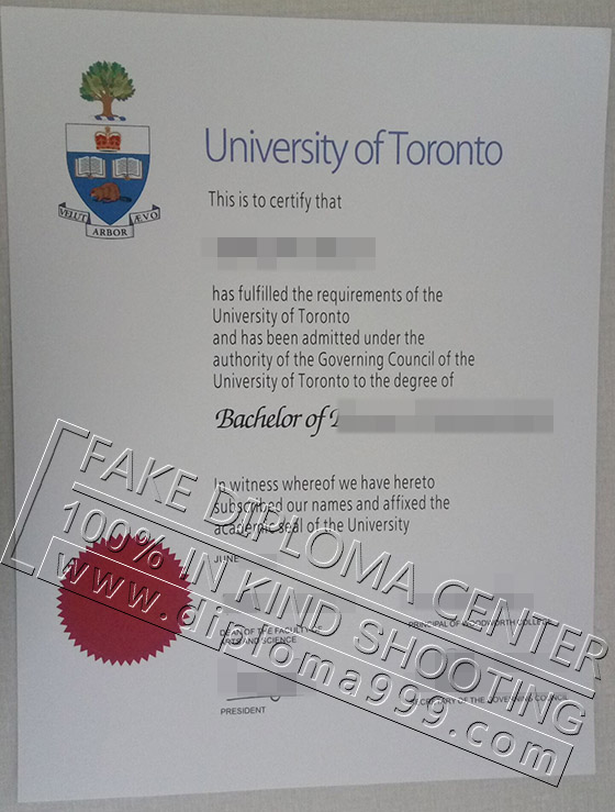 Where to buy fake degree from the university of Toronto?
