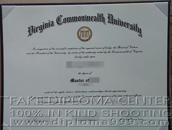 Fake degree from Virginia Commonwealth University(VCU)