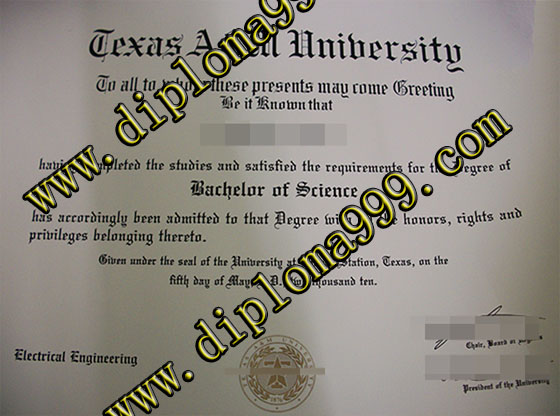 Fake diploma, Buy fake Texas A&M University degree