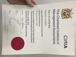 Buy Fake Diplomas, CIMA Associate Membership Certificate