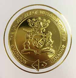 University of Western Ontario Diploma Golden Seal