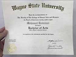 How to Buy Wayne State University Fake Bachelor Degree