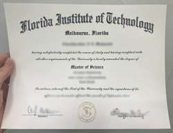 Fake Florida Institute of Technology Degree With A Major in Aerospace Engineering